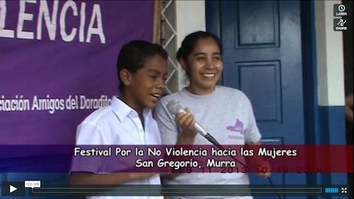 Festival i San Gregorio.