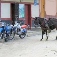 Typisk gadebillede fra Murra.