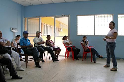 Workshop med befolkningen i Murra